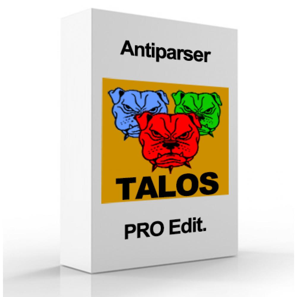 Защита от парсинга, защита ботов - TALOS PRO